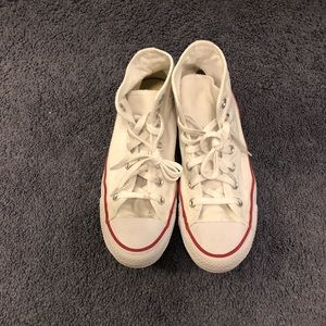Converse White Chuck Taylor All Star Hi Women 8